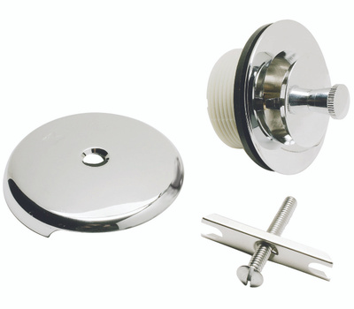 Plumb Pak PP826-67 Chrome Trim Kit-Lift And Turn Conversion