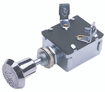 Calterm ECM 42200 Chrome Push Pull Switch