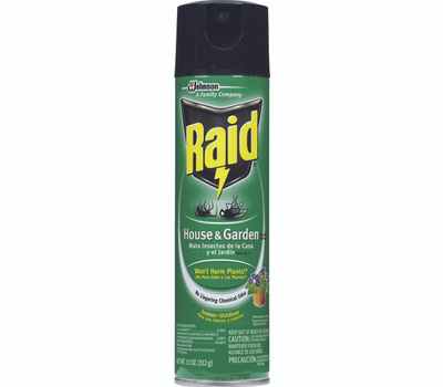 Raid 76410 House And Garden Bug Killer Aerosol 11 Ounce