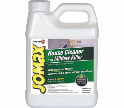 Zinsser 60104 Jomax House Cleaner And Mildew Cleaner Concentrate Quart