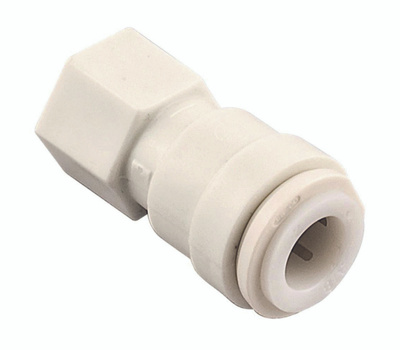 Watts Water PL-3060 Connector 1/4od X 1/4fp