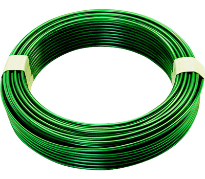 Hillman 50149 Ook Steel Wire Green Vinyl 100 Foot