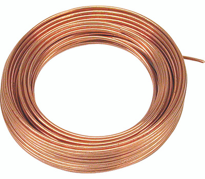 Hillman 50160 Ook Copper Wire 16 Gauge 25 Foot