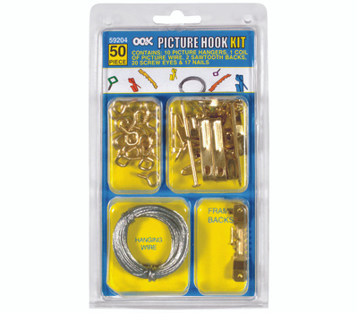 Hillman 59204 Ook Picture Hanging Kits 50 Piece