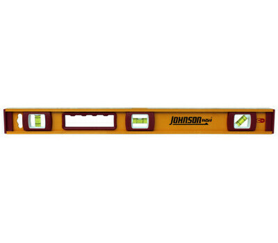 Johnson Level 1234-2400 Level Ibeam Mag Alum Hd 24in