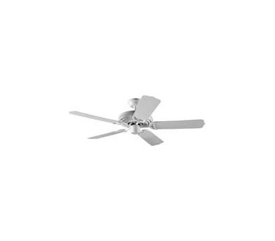 Hunter Fan 53054 Sea Air 52 Inch Outdoor White Ceiling Fan With 5 White Plastic Blades