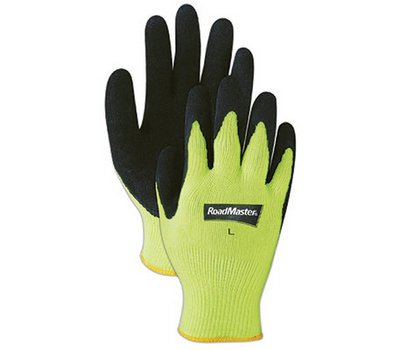 Magid Glove 305HVTL Yellow Hivis Knit Gloves Large