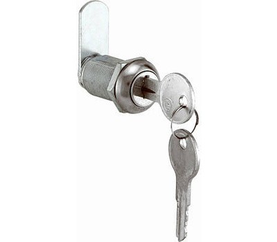 Prime Line CCEP9945KA Stainless Steel Cabinet Lock 1-1/8 Inch