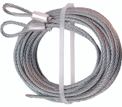 Prime Line GD52100 Garage Door Extension Cables 1/8 Inch Diameter By 12 Foot Length