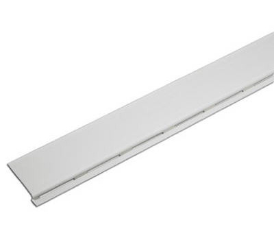 Amerimax 85320 4 Foot White Pvc Solid Gutter Covers