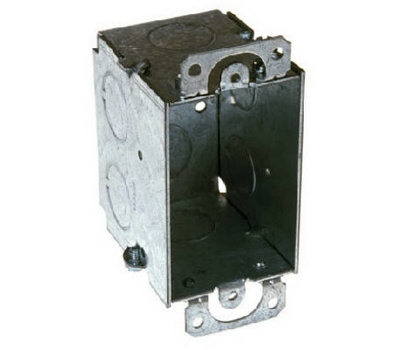Raco 8500 3 By 2 1/2D Steel Switch Box
