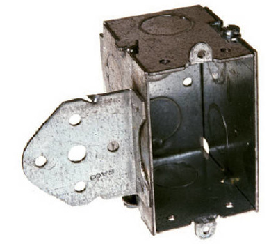 Raco 502 3 By 2 1/2D Steel Switch Box