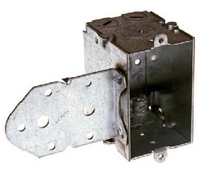 Raco 529 2 1/2 Switch Box With Bracket And Less Ear