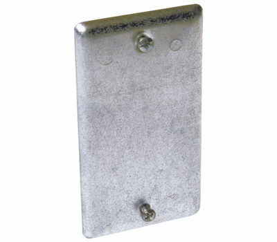 Raco 860 Blank Steel Utility Box Covers