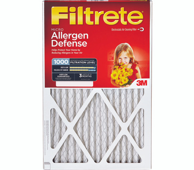 3M 9820-6 Filtrete Micro Allergen Defense Filter 12 Inch By 24 Inch By 1 Inch