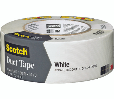 3M 3960-WH Scotch Tape Duct White 1.88Inx60yd