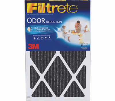 3M HOME03-4 Filtrete Odor Reduction Carbon Filter 20 Inch By 25 Inch By 1 Inch