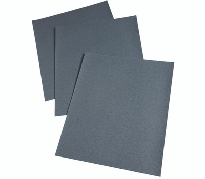 3M 2018 Sand Blaster Sandpaper Sheets, Wet Or Dry, 80 Grit, 9 Inch By 11 Inch, 50 Pack