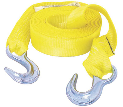 Keeper 02815 15 Foot Tow Strap With Hook