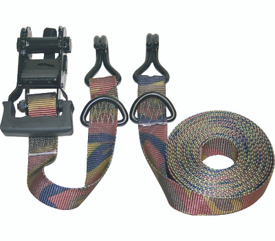 Keeper 03548 Ratcheting Pro Grade 16 Foot Camo Twin Pack