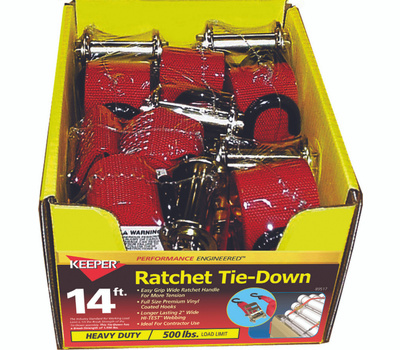 Keeper 89517 2 Inch By 14 Foot Rcht Tiedown 1500 Pound