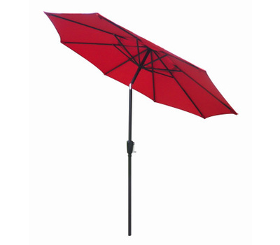 Four Seasons ECO908D709-P81 FS 9 Foot RED STL Umbrella
