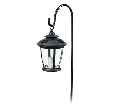 Sterno Home Inc TV29960BK Four Seasons FS BLK Sol Cand Lantern
