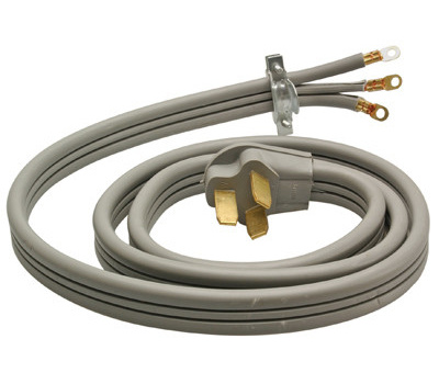 HWG Kintron 09014ME Master Electrician 4 Foot 6/2 And 8/1 Range Cord