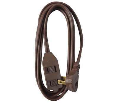 HWG Kintron 09409ME Master Electrician 11 Foot 16/2 Brown Extension Cord