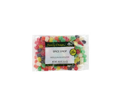 Ruckers Candy 1107 Family Choice 18.5 Ounce Spice Drops