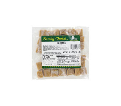 Ruckers Candy 1138 Family Choice Indiv Wrap 7 Oz Bag