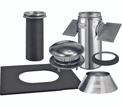Selkirk 206621 Pitch Ceiling Support Kit 6in