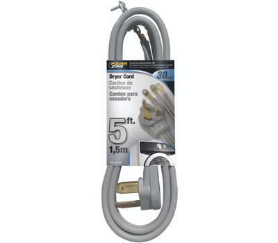 Power Zone ORD100305 Cord Dryer Indr 10/3x5ft Gray