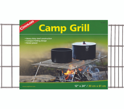 Coghlans 8775 Grill Camp Steel H Dty 12X24in