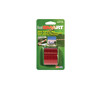 INCOM RE804 Lifesafe Red Reflective Tape 1.5 Inch By 4 Foot Roll