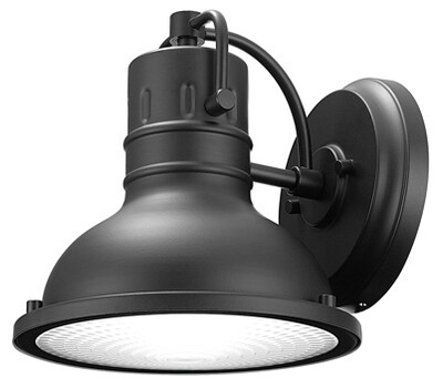 Globe Electric 44157 Harbor 1LGT BLK Lantern
