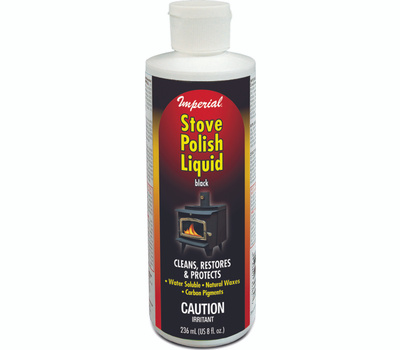 Imperial Manufacturing KK0057 Polish Stove Liquid Black 8 Ounce