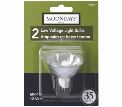 Coleman Cable 95507 Moonrays Bulb Halogen Mr16 Lv 2 Pin 35W