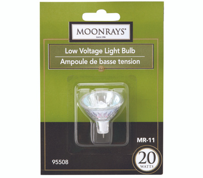 Southwire 95508 Moonrays Bulb Halogen Mr11 Lv 2 Pin 20w