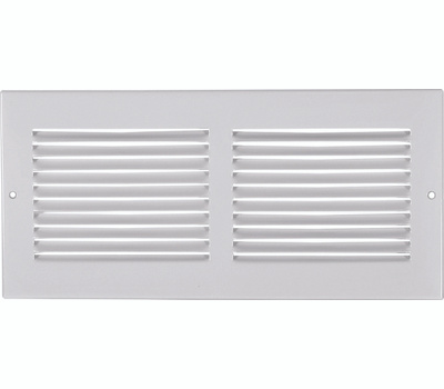Imperial Manufacturing RG0418 Sidewall Grille 14 X 6 Inch White
