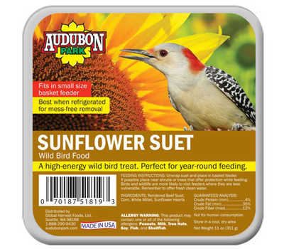 Global Harvest 13067 11 Ounce Sunflower Suet