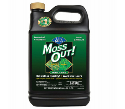 Central Garden 100099156 Lilly Miller Killer Moss Lawn 1Gal