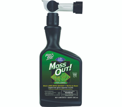 Lilly Miller 100503873 Killer Moss Lawn Rts 32 Ounce