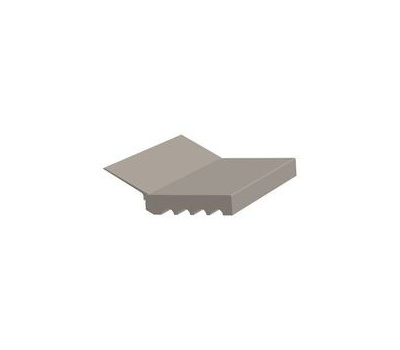 Royal Building Products 5094093 Stop Garage Pvc Sandstone 7Ft