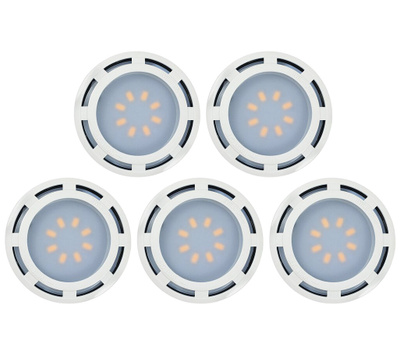 AmerTac KBLD-L5W-N1 Westek Light Puck White 5 Pack