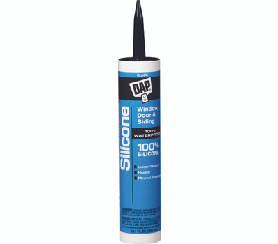 Dap 08642 10 1 Ounce Black Silicone Sealant