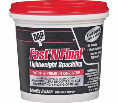 Dap 12142 Fast n Final Quart Lw Spackling