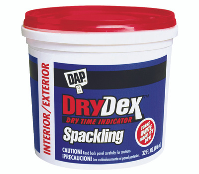 Dap 12330 Drydex Spackling Compound Interior/Exterior Quart