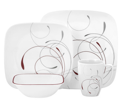 World Kitchen 1101053 Corelle 16 Piece Splendor Squares Dinnerware Set  sc 1 st  HardwareAndTools.com & World Kitchen 1101053 Corelle 16 Piece Splendor Squares Dinnerware ...