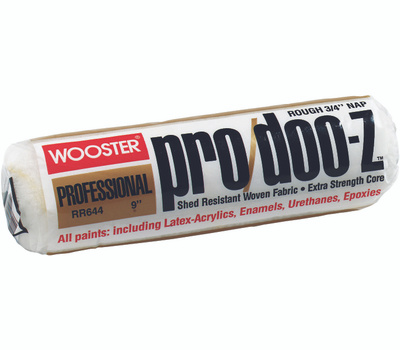 Wooster RR644-9 Pro Doo Z 9 Inch 3/4 Inch Pile Pro Lint Free Roller Cover